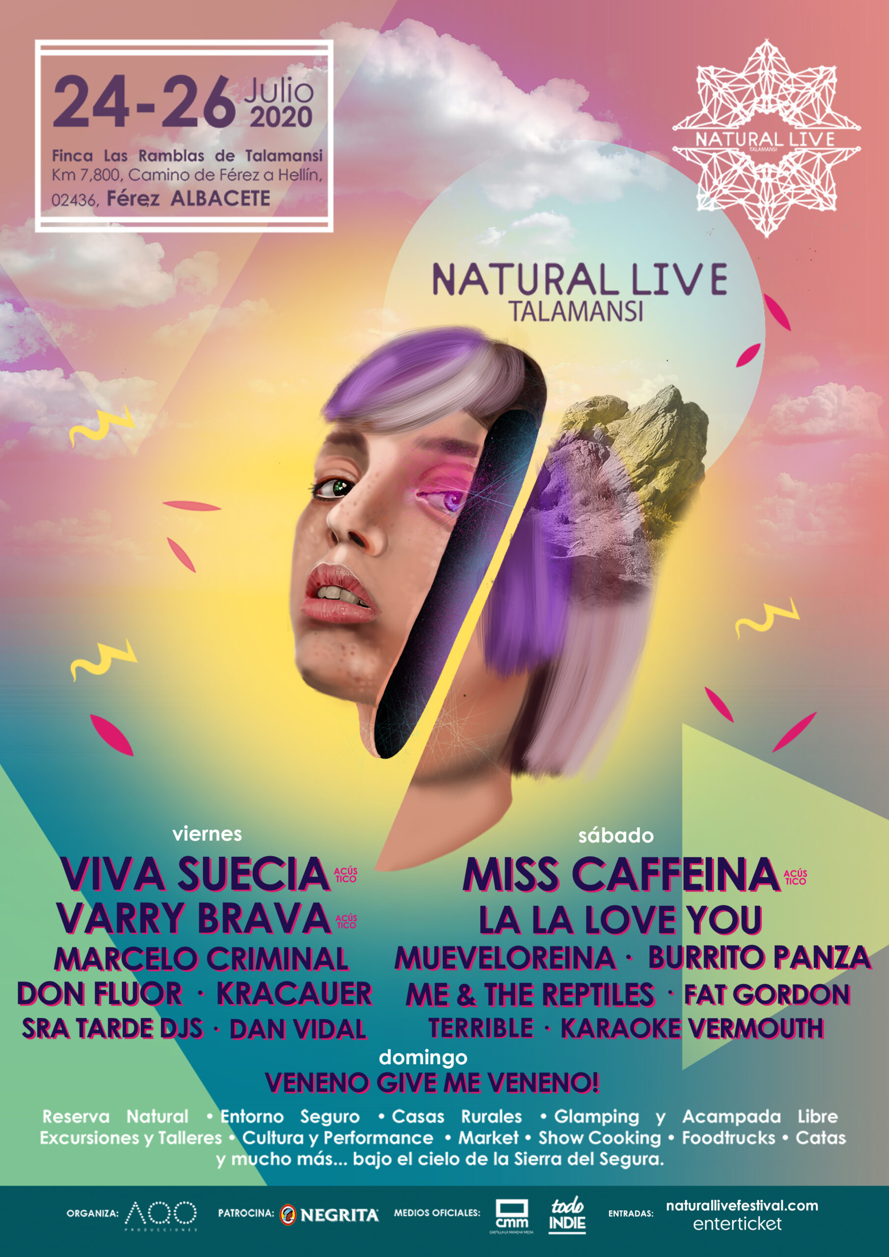 CARTEL NATURAL LIVE 2020